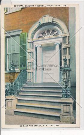 29 E 4 St,. Seabury-Tredwell House, NYC
