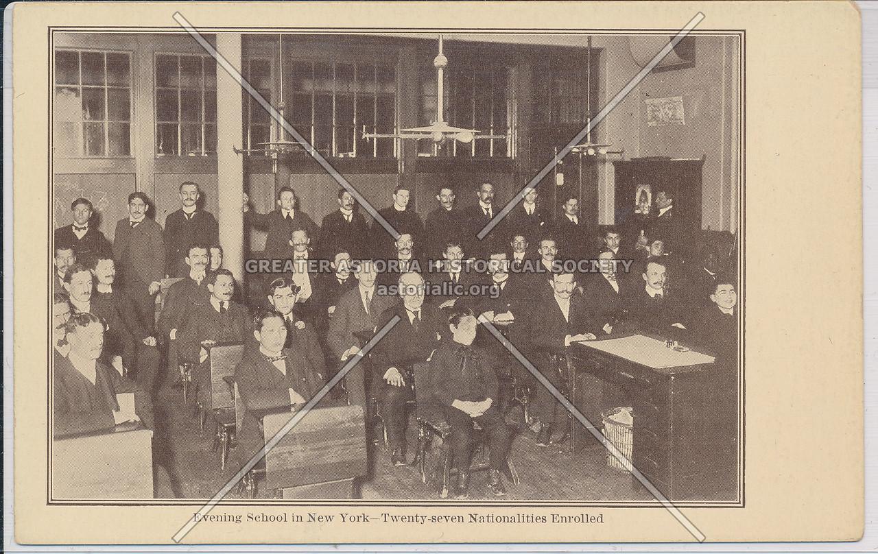 Evening School in NYC (27 nationalities)