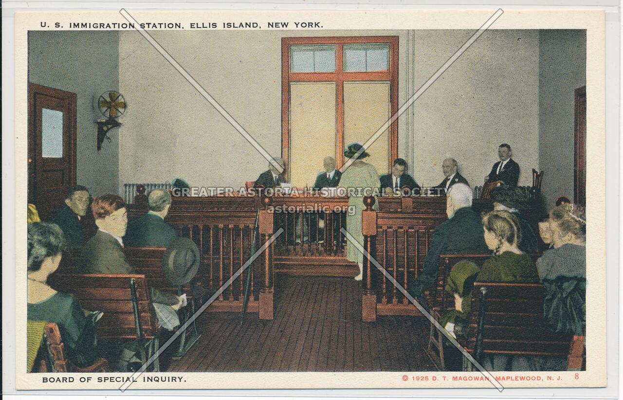 Ellis Island Board of Special Inquiry