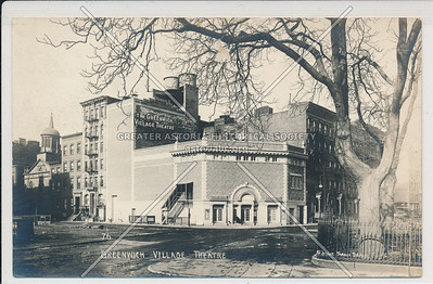 Village Theater, 7 Ave, Greenwich Village - Jessie Tarbox Beals