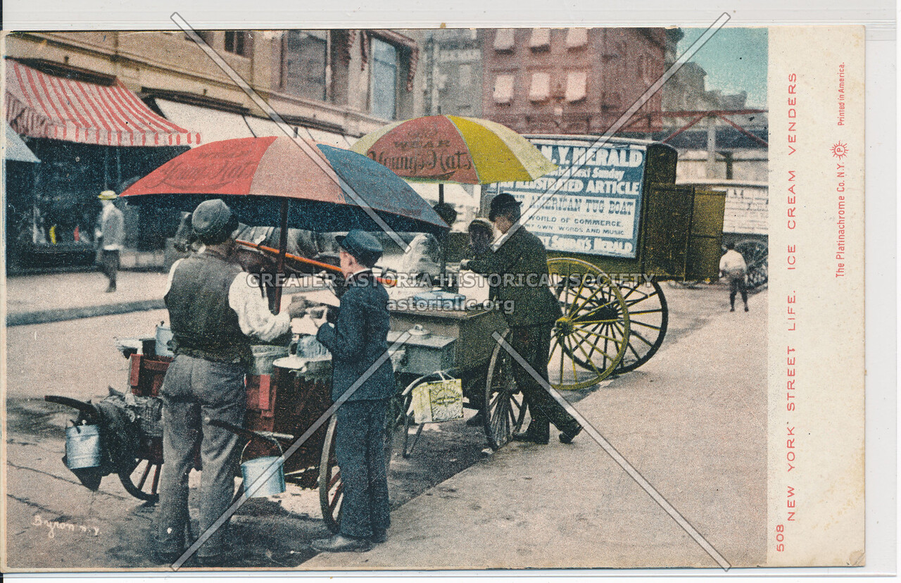 Ice Cream Vendor, NYC