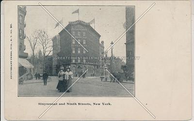 Plimpton's Furniture Warehouse, Stuyvesant & 9 St, NYC