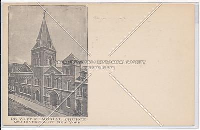 De Witt Memorial Church, 280 Rivington St, NYC