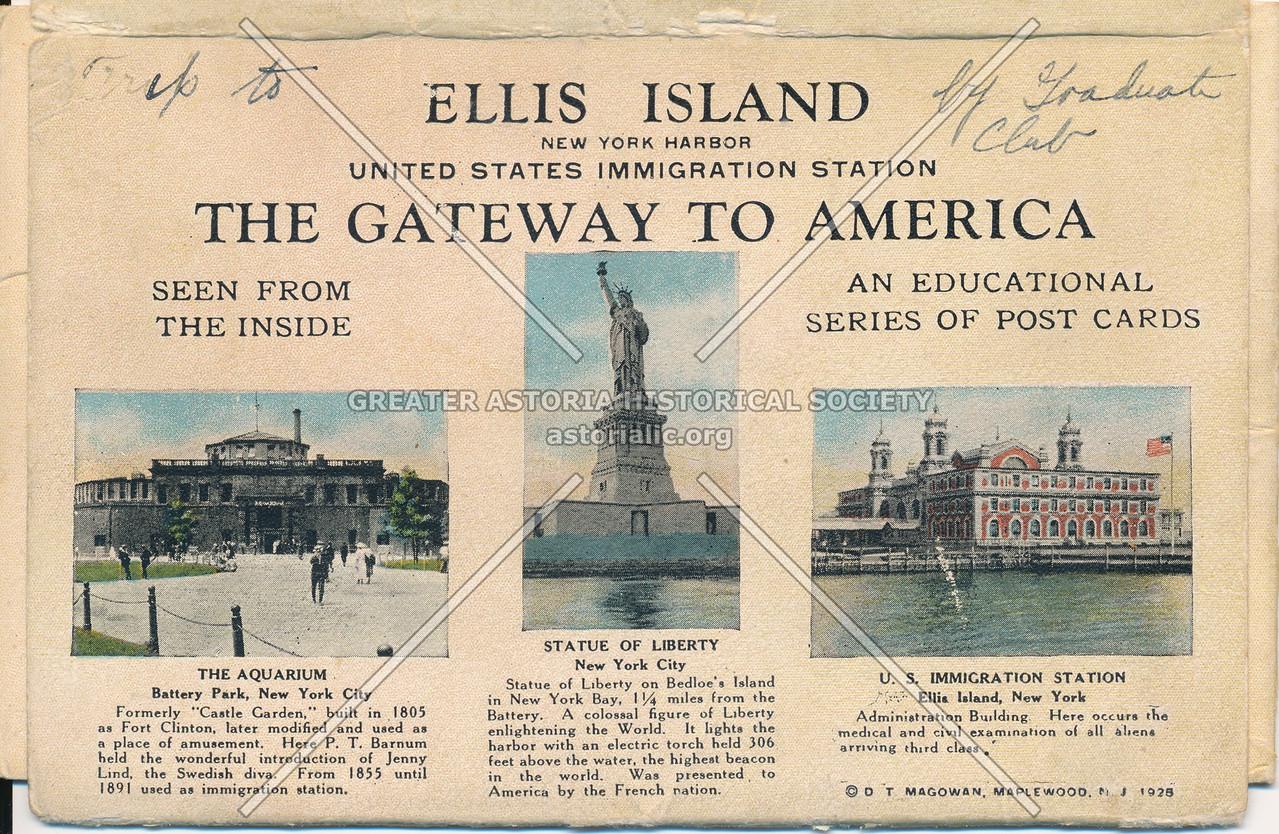 Ellis Island Gateway to America