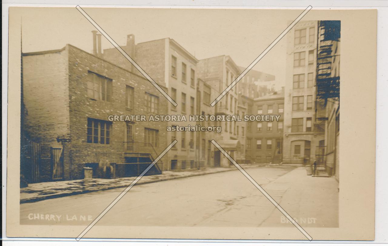 Cherry Lane (Commerce St), Greenwich Village