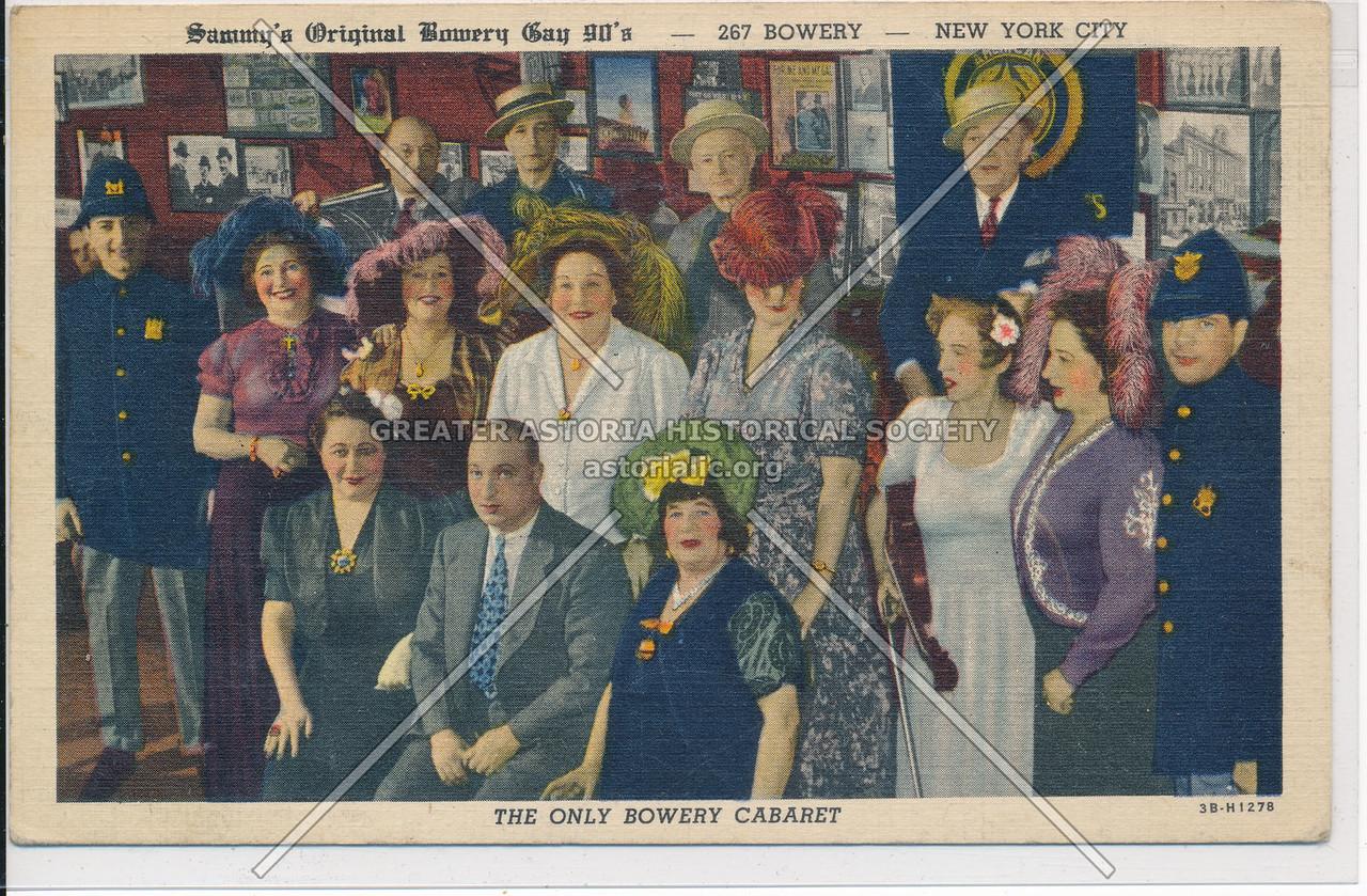 Sammy's Bowery Gay 90s, 267 Bowery, NYC