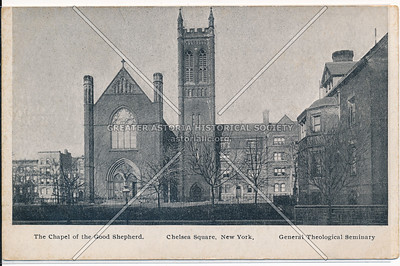 Chapel of the Good Shepherd, General Theological Seminary, NYC