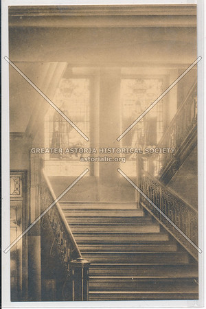 11 St Staircase, St Vincent's Hospital, NYC