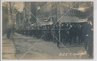 Pro Russia March, Oct 8, 1919