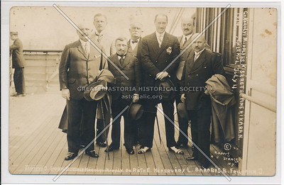 Hungarian Delegation Visit to NYC, July 1914