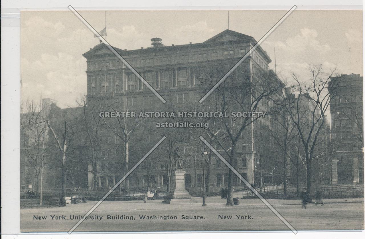 NYU Building, Washington Sq, NYC