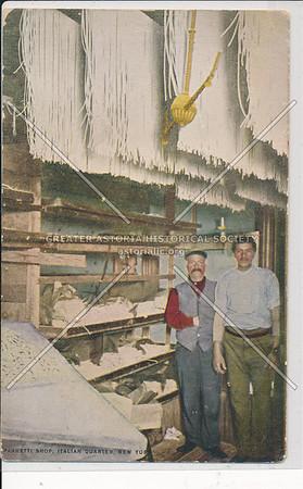 Speghetti Shop, Italian Quarter, NYC