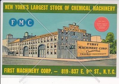 First Machinery, 819 E 9 St, NYC