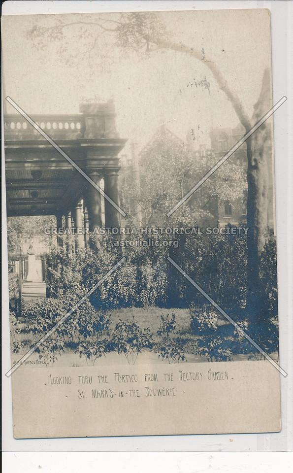 St. Marks in the Bouwerie, Greenwich Village - Jessie Tarbox Beals