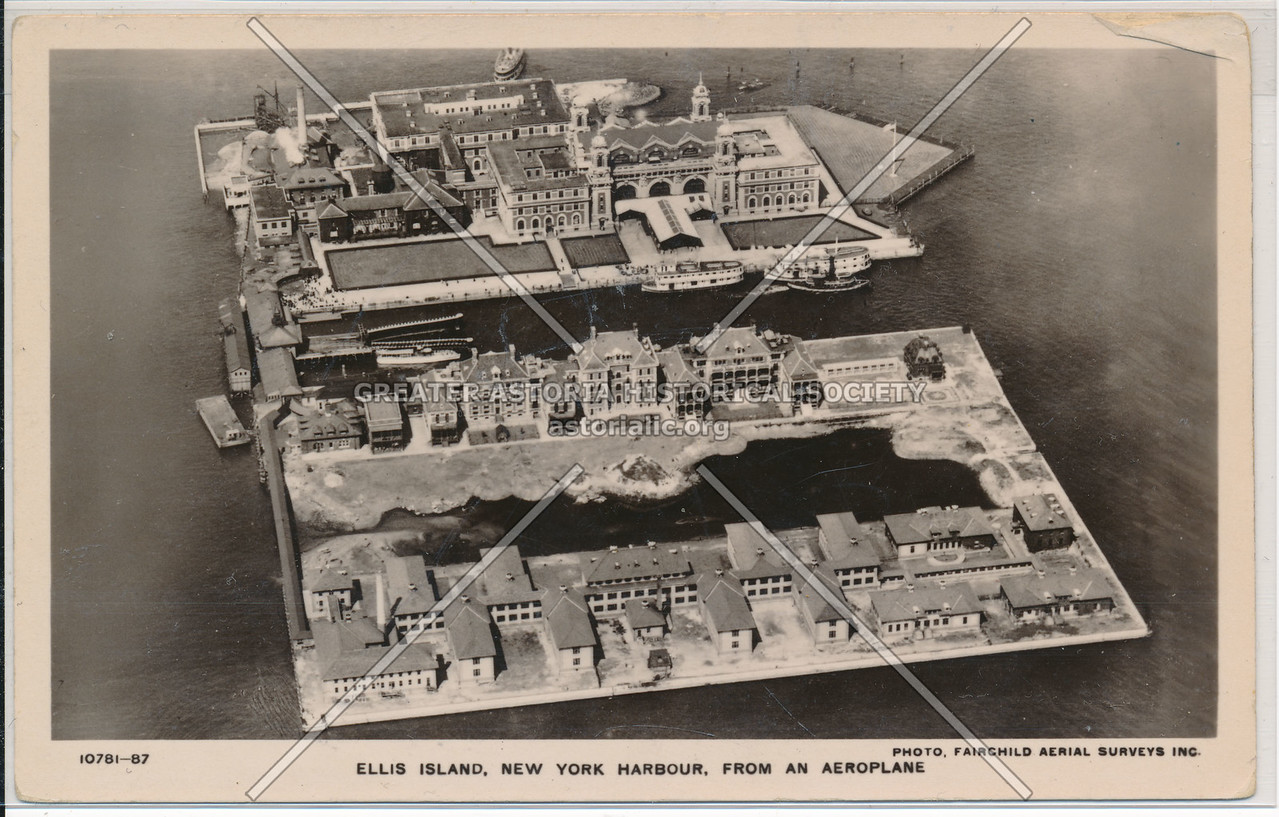 Ellis Island from the Air