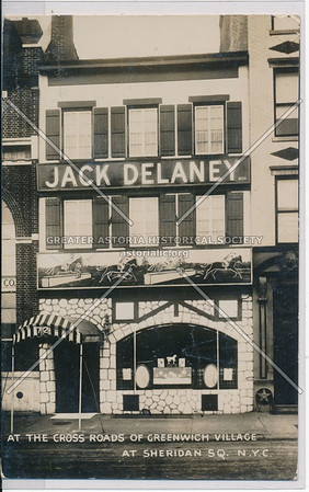 Jack Delaney, Sheridan Sq, NYC