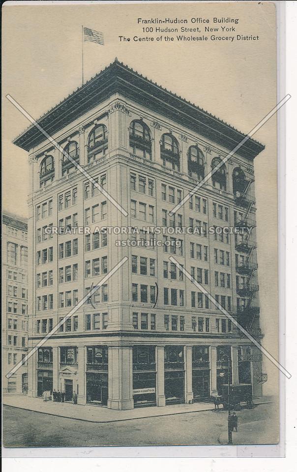 Franklin-Hudson Bldg, Wholesale Grocery, 100 Hudson St., NYC