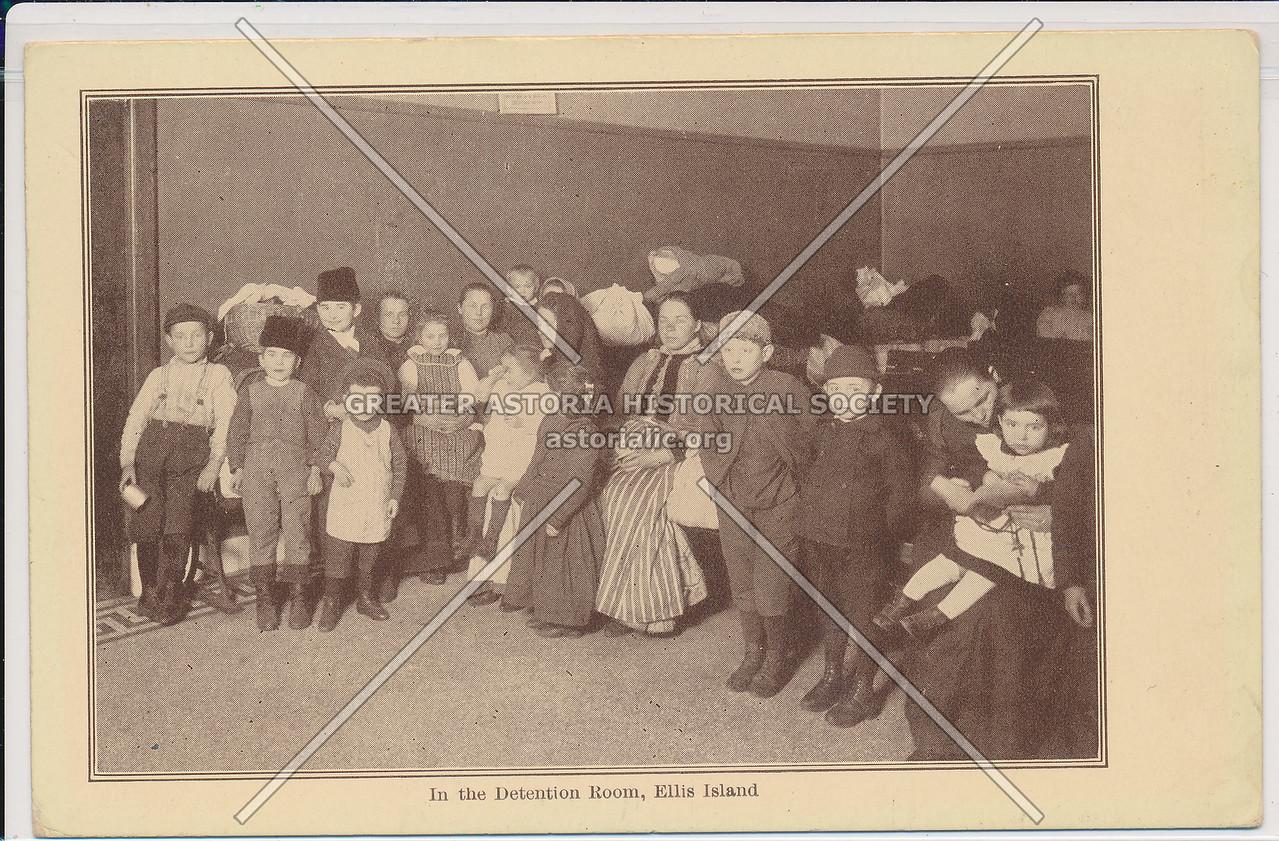 Ellis Island, Detention Room
