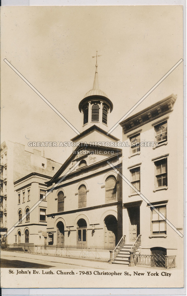 St John Ev Luthern Church, 79 Christopher St, NYC