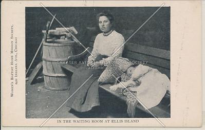 Waiting Room, Ellis Island