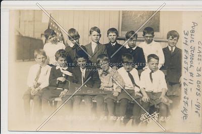 PS 11, 314 E 16 St, NYC (3A Boys - 1915)