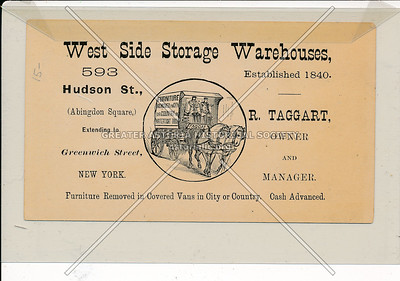 West Side Storage Warehouse, 593 Hudson St, NYC