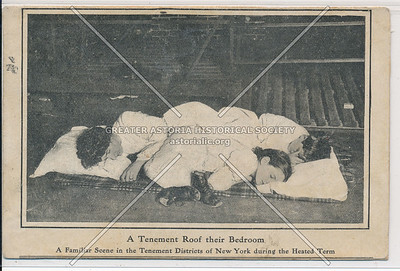 Tenement Roof as Bedroom