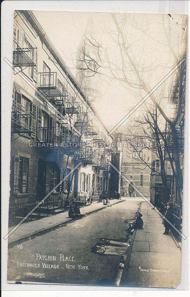 Patchin Place, Greenwich Village - Jessie Tarbox Beals