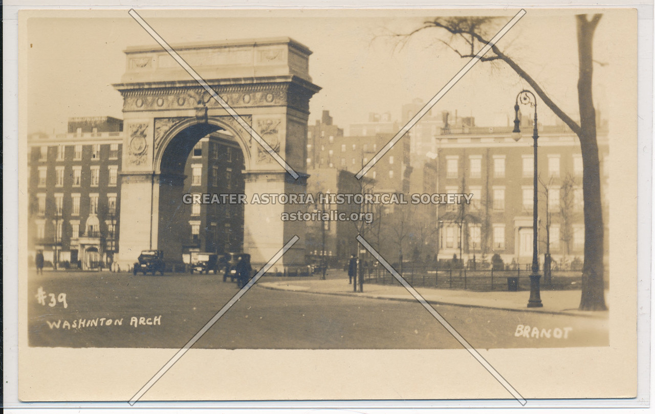 Washington Arch, Washington Sq