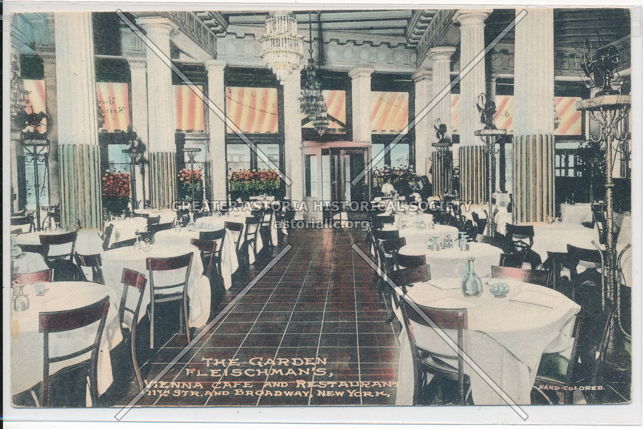 Fleischmanns' Vienna Cafe, 11 St & B'way, NYC