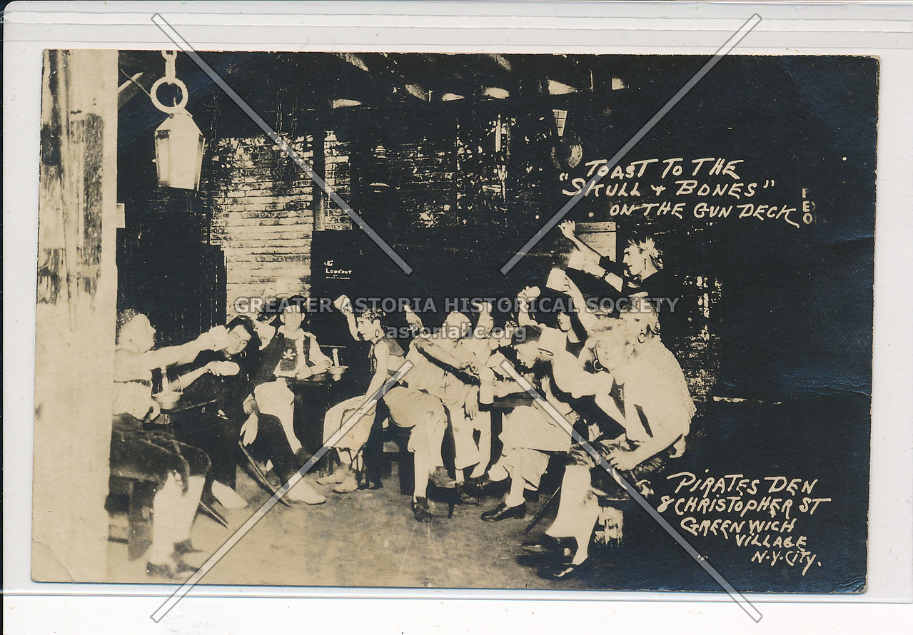 Pirates Den, Christopher St, Greenwich Village