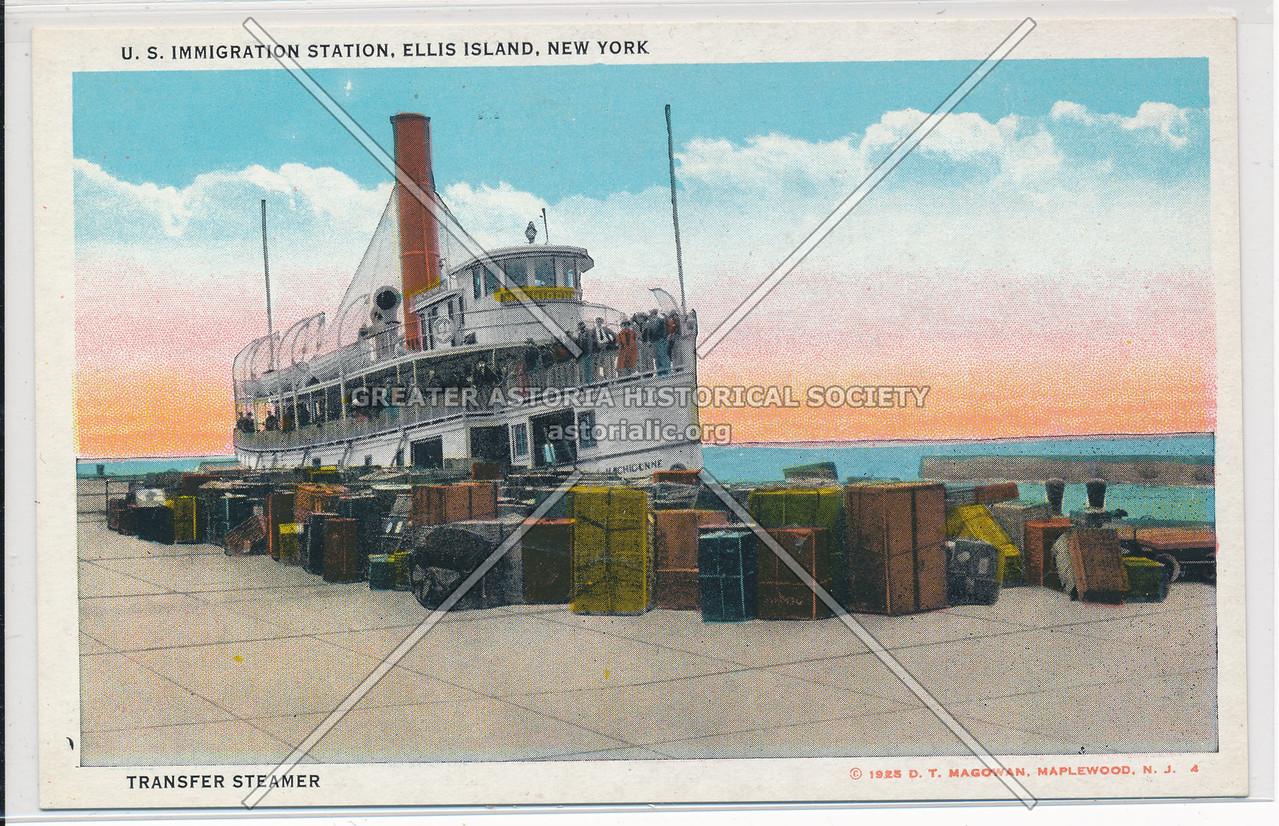 Ferry, Ellis Island
