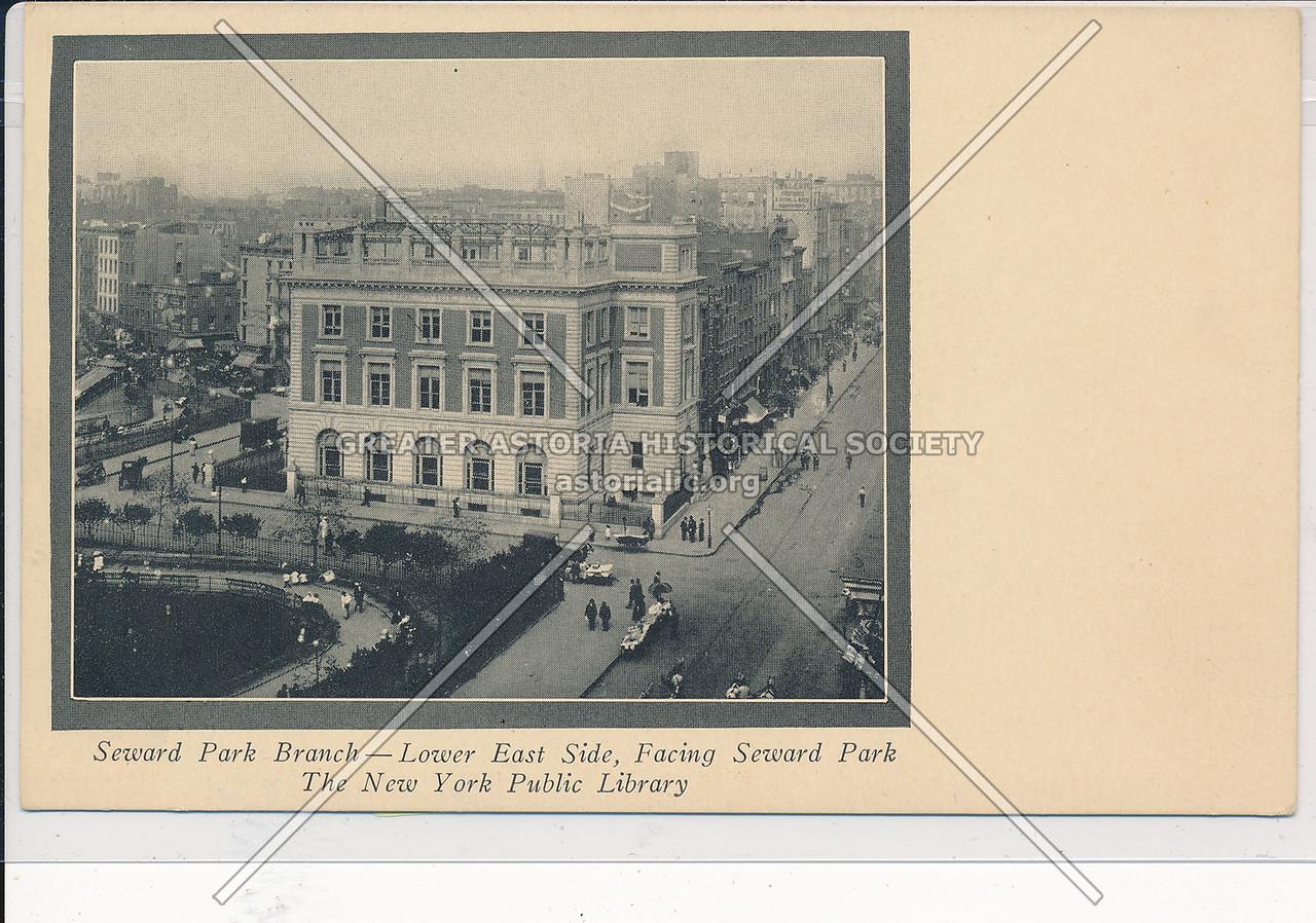 Seward Park Library Branch, NYPL, Seward Park, NYC