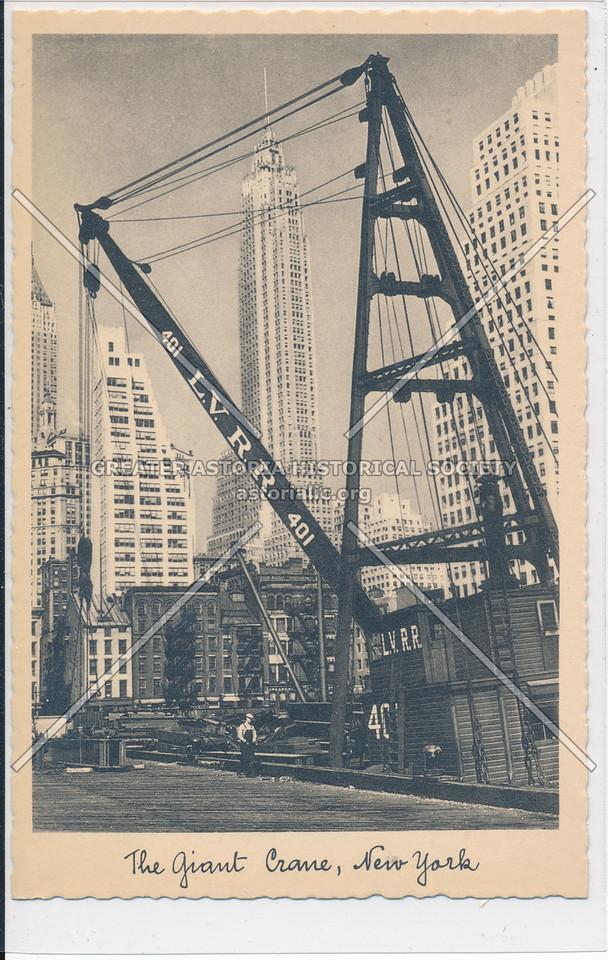 Giant Crane, NY Habor