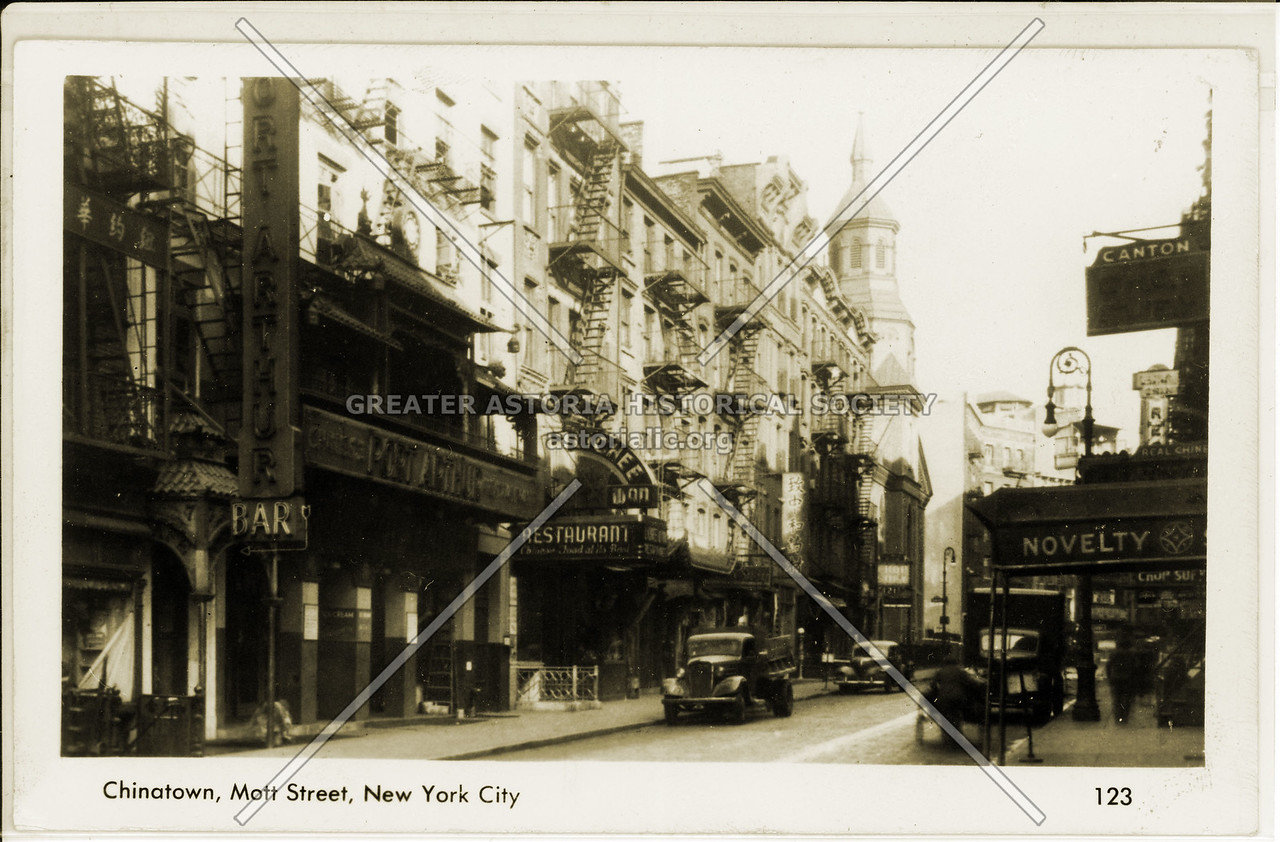 Mott Street, NYC