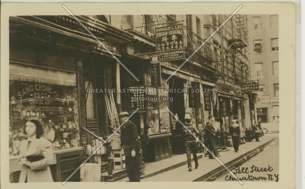 Pell Street, Chinatown