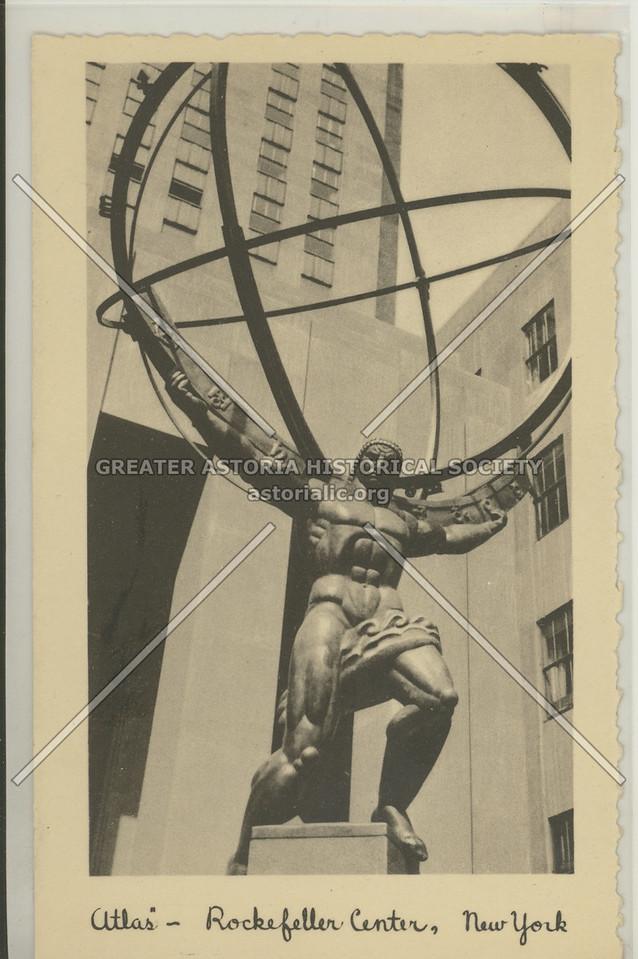 Atlas, Rockefeller Center, NYC