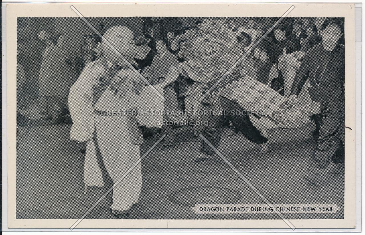 Dragon Parade Chinese New Year