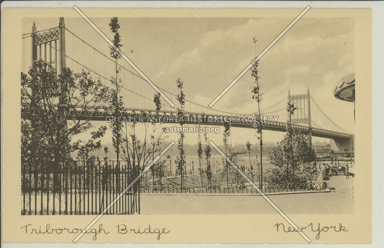 Triborough Bridge, Astoria Park
