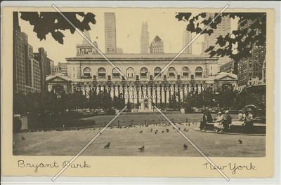 Bryant Park and NY Public Library