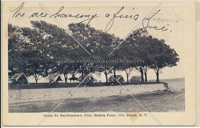 Camp St Bartholomew Club, Belden Point, City Island, NY