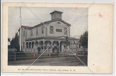 38th Sub-Precinct, Police Station, City Island