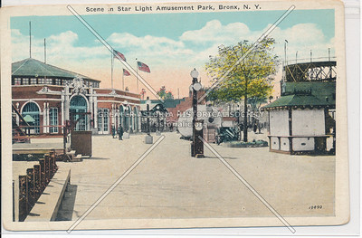 Scene in Star Light Amusement Park, Bronx, N.Y.
