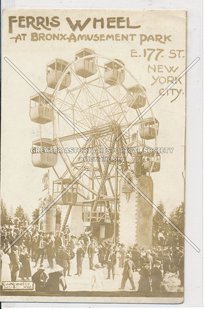 Ferris Wheel-At Bronx Amusement Park E. 177th St. Bronx