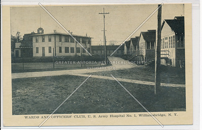 Wards and Officers' Club, U.S. Army Hospital No. 1, Williamsbridge, Bx.
