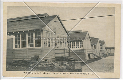 Wards, U.S.A General Hospital No. 1, Williamsbridge, Bx.