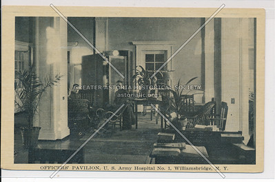 Officers' Pavilion, U.S. Army Hospital No. 1, Williamsbridge, Bx.