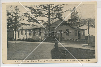 Post Exchange, U.S. Army General Hospital No. 1, Williamsbridge, Bx.