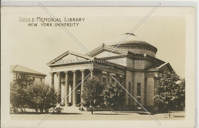 Gould Memorial Library New York University, Bx.