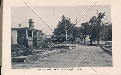 Dock, Fort Schuyler, Bx.